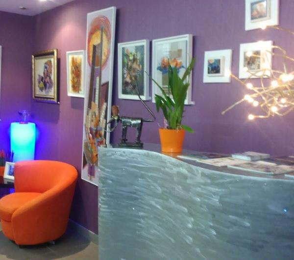 decoration chaleureuse accueil restaurant Au fil de l-eau 2