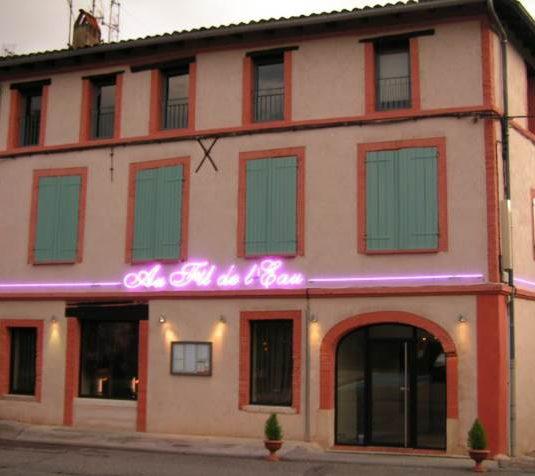 vue extérieure du restaurant Au Fil de l'Eau de Montauban